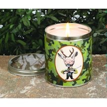 Camo Hunter Candle