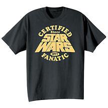 Star Wars® Certified Fanatic T-Shirt