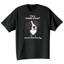 Dog Breed Tee- Bernese Mountain Dog