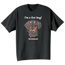 Dog Breed Tee- Black And Tan Dachshund