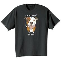 Dog Breed Tee- Pit Bull