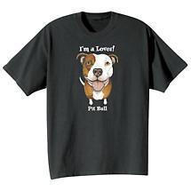 Dog Breed Tee- Pit Bull