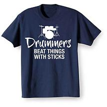 Music Instruction T-Shirt- Drummers