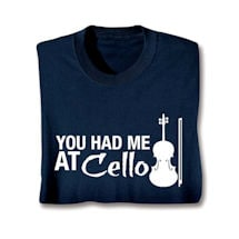 Music Instruction Sweatshirt- Cello