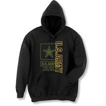 Military Army Hooded Sweatshirt