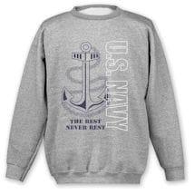 Military Navy Sweatshirt