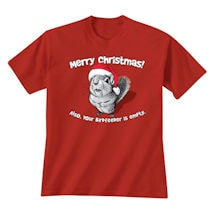 Merry Christmas Squirrel T-Shirt