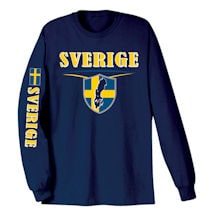 International Long Sleeve T-shirts- Sverige (Sweden)