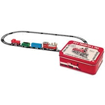 Mini Toy Train In A Tin