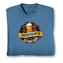 "Personalized ""Your Name"" Old Brew House Beer Lover Shirt"