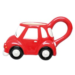 Little Red Car 3D Mug