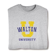 "Personalized ""Your Name"" Big ""U"" University Shirt"