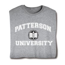 "Personalized ""Your Name"" University Shirt (White)"