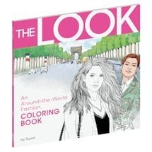The Look- An Around-the-World Fashion Coloring Book