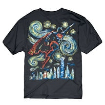 Abstract Superhero Tees- Superman