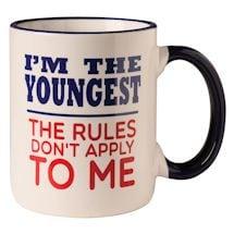 I'm The Youngest Child Mug