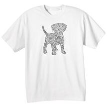 Color Your Own Tee- Dog