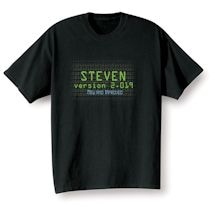 "Personalized ""Your Name"" Goal Shirt - Version 2.019 New and Improved"