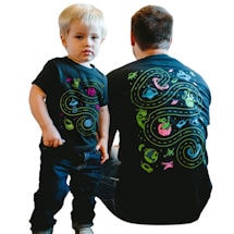 Space Mat Play Shirt Set (Adult+ Kid)