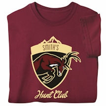 """Personalized """"Your Name"""" Hunt Club T-Shirt"""