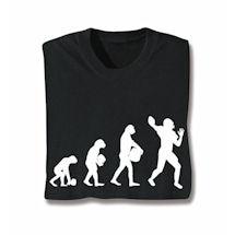 Evolution Of Sport Shirts - Football