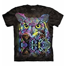 Colorful Owl Tee