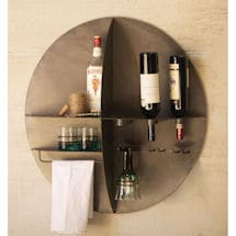 Wall Wine Bar Shelf