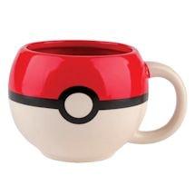 Pokeball Ceramic Mug