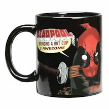 Exclusive Deadpool Warped Skin Magic Heat-Changing Mug 12 Oz Ceramic