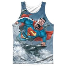 Superman In Information Sublimated Tank