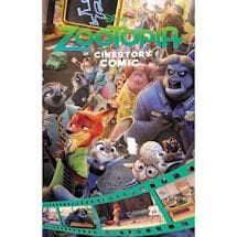 Zootopia Cinestory Comic Book