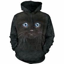 Blue Eyes Cat Hoodie