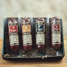 Hunters Delight Open Season Gift Boxes- Taste Of The Wild Summer Sausage