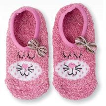 Pink Cat Slippers