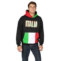 International Flag Hoodies - Italy