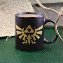 Nintendo The Legend Of Zelda Link Hyrule Symbol Mug