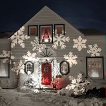 Holiday Landscape Projection Lighting