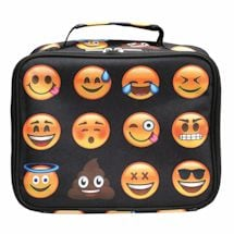 Emojicon Lunch Boxes- Black