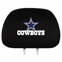 Officially Licensed NFL Head Rest Covers - Set of 2
