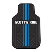 Personalized Car Mats - Striped