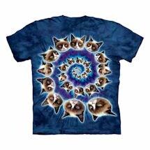 Grumpy Cat T-Shirt- Swirl