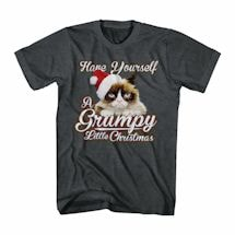 Grumpy Cat T-Shirt- Christmas
