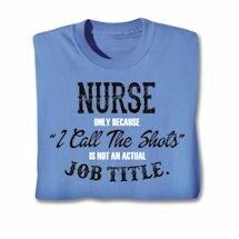 Actual Job Title T-Shirt - Nurse