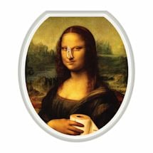Mona Lisa Toilet Tattoo