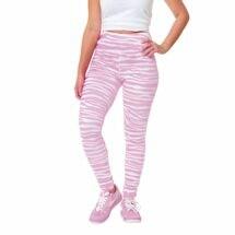 Team Leggings Pink/White