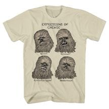 Expressions Of Chewie T-Shirt