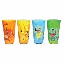 Pokémon Character Pint Glasses Set of 4