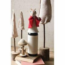 Cheerful Chipmunk Wine Bottle Topper
