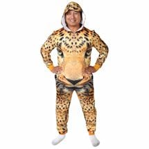 Sublimated Animal Jumpsuits - Cheetah