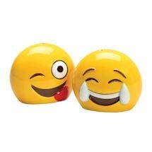 Emojicon Serveware - Emoji Salt & Pepper Shakers